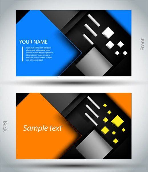 Business card template Free vector in Adobe Illustrator ai ( .ai ...
