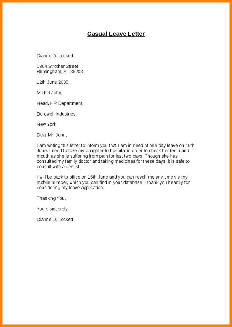 5+ letter for leave the job | ledger paper