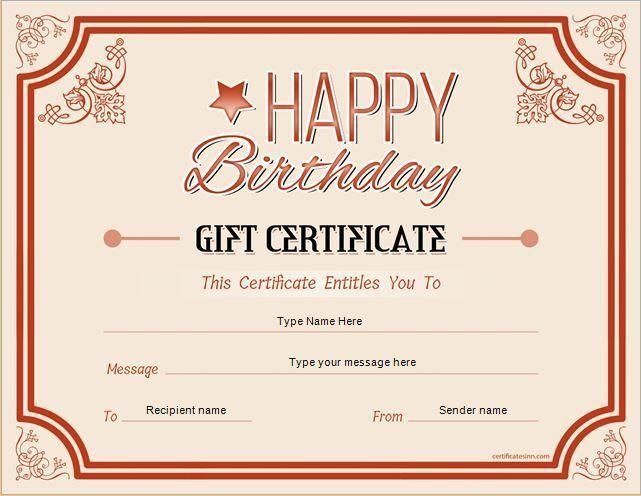 25+ best Gift certificate template word ideas on Pinterest | Free ...