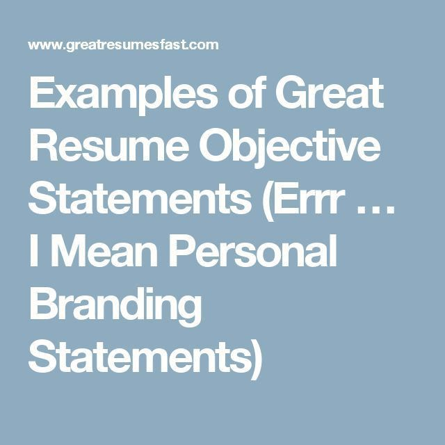 Best 25+ Personal brand statement examples ideas on Pinterest ...