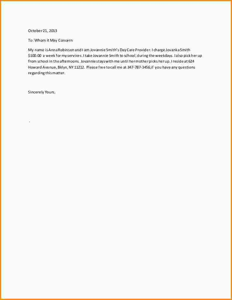 8+ letter of recommendation for babysitter | mac resume template