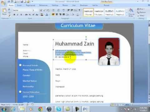 Download How To Do A Resume On Microsoft Word ...
