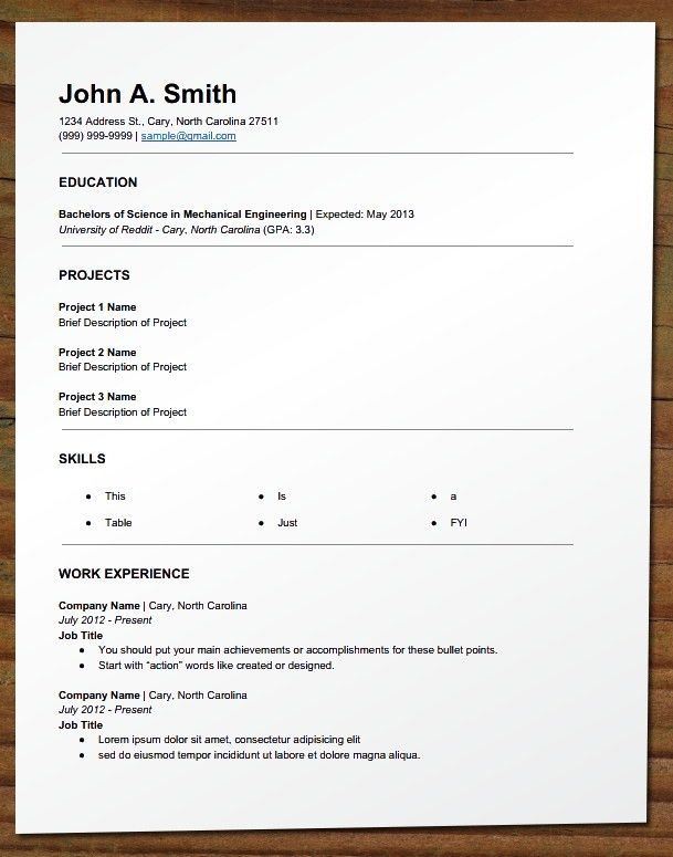28+ How To Write A Resume For Part Time Job | Part Time Job Resume ...