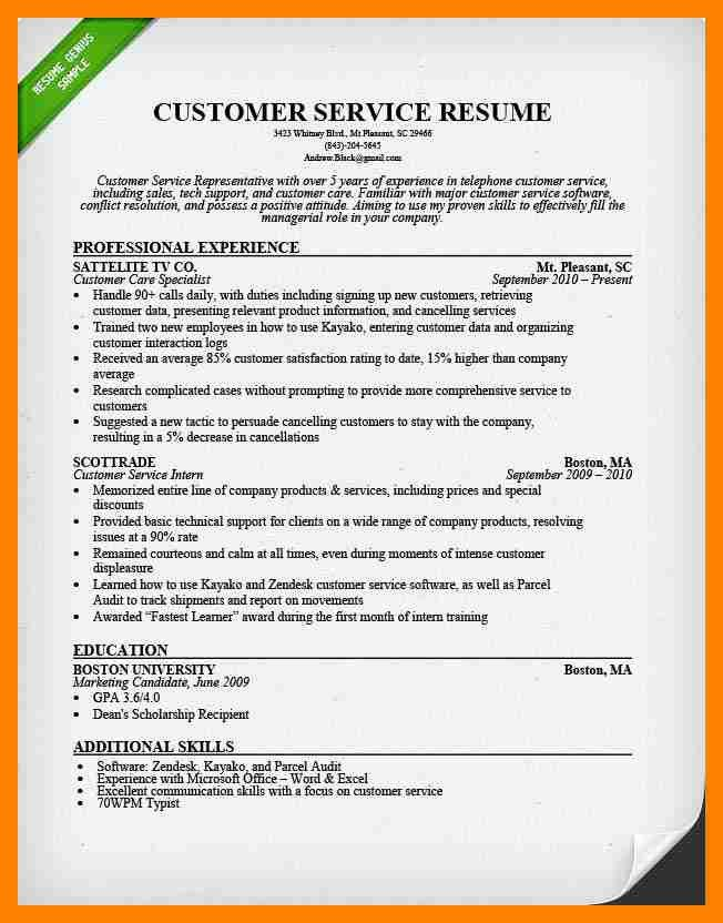 6+ customer service resume samples | doctors signature