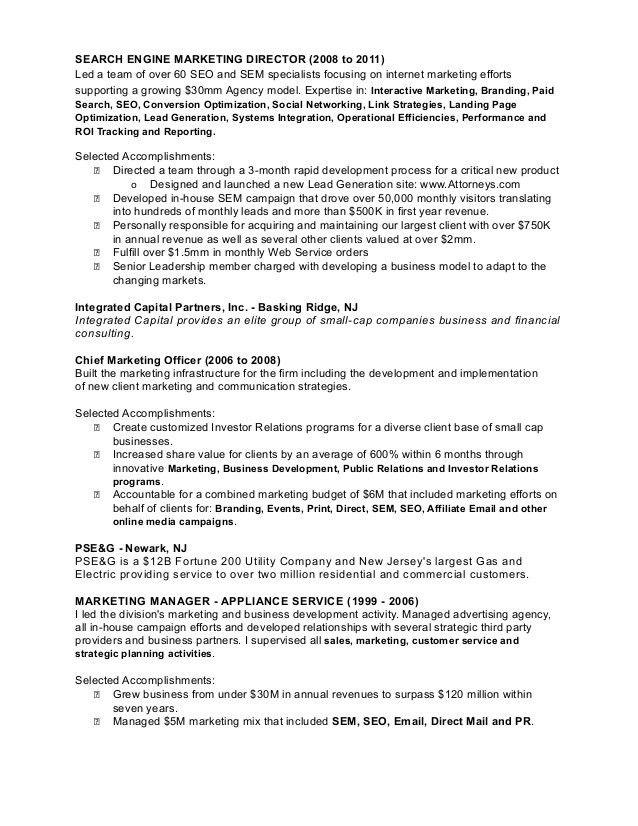 Richard Brenner - Resume 2013
