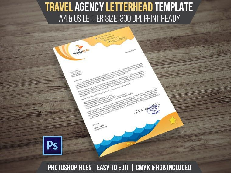 7+1 Corporate Letterhead Templates Pack | Letterhead template ...