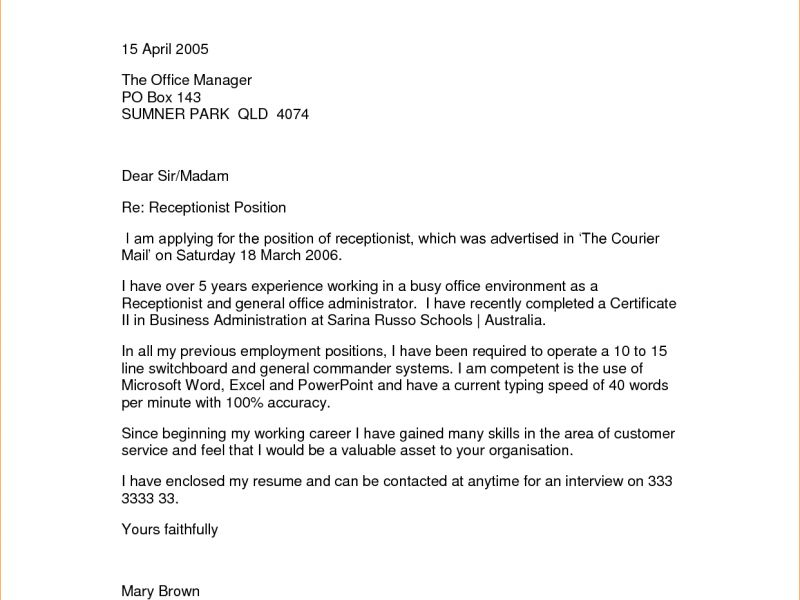 Neoteric Design Cover Letter No Experience 8 Admin Cover Letter No ...