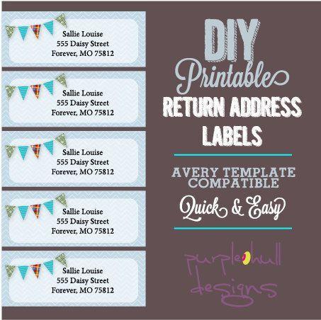 9 best Return Address Labels images on Pinterest | Return address ...