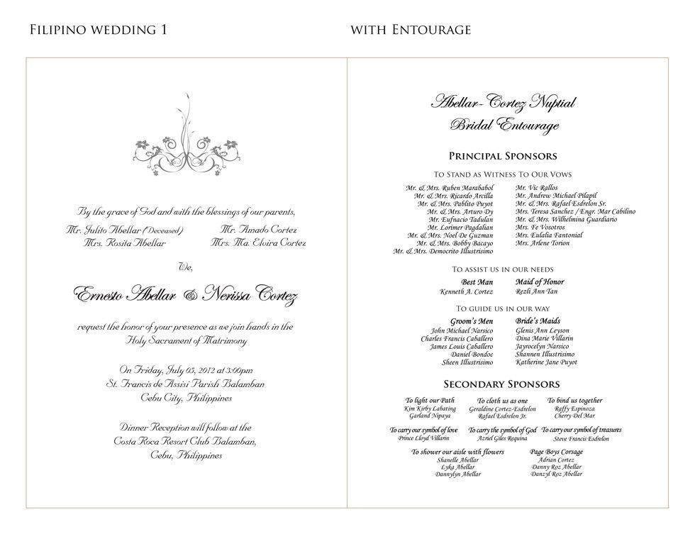 Wording samples for Wedding Invitations_Handsmaden