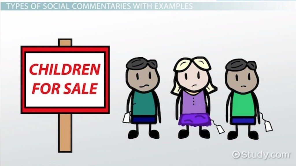What is Social Commentary? - Definition, Books & Examples - Video ...
