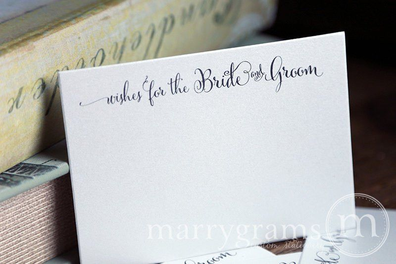 Wedding Wish Cards - Wishes For The Bride and Groom Whimsical