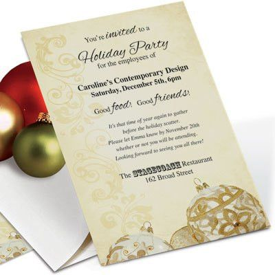 Getting to Yes: Business Christmas Invitation Wording ...