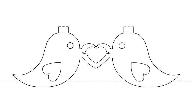 ♡○Tweet the Love ○♡- Valentines pop up card template ...