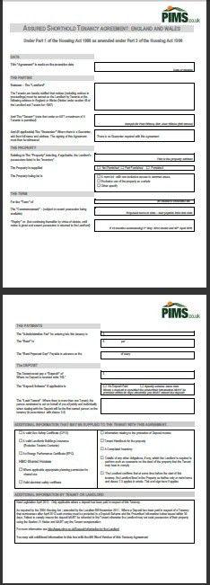 Landlord Advice & Documents | Tenancy Management | PIMS