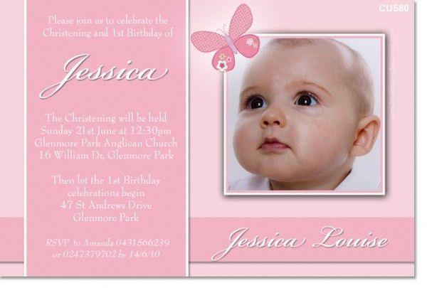 Baptism Invitations For Girl | badbrya.com