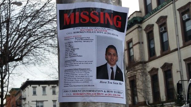 Body Of Missing Hoboken Man Matthew Genovese Pulled From Hudson ...