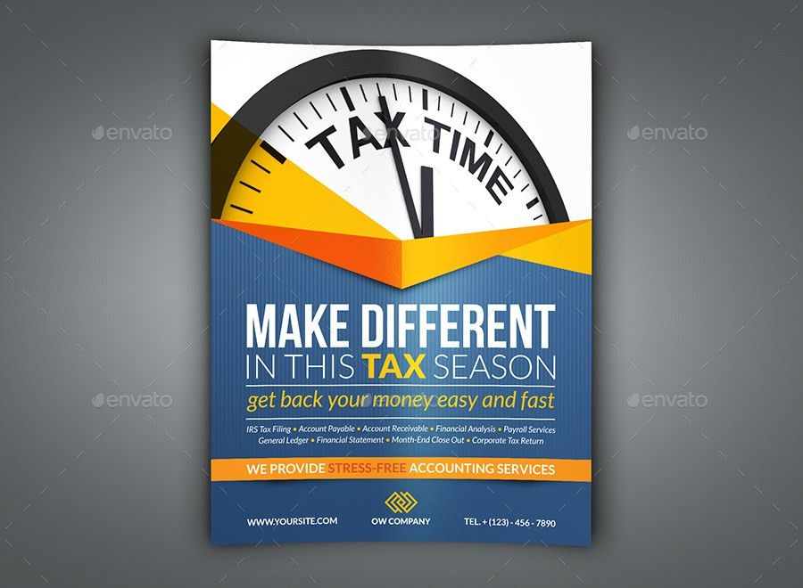 tax flyer templates free - thebridgesummit.co