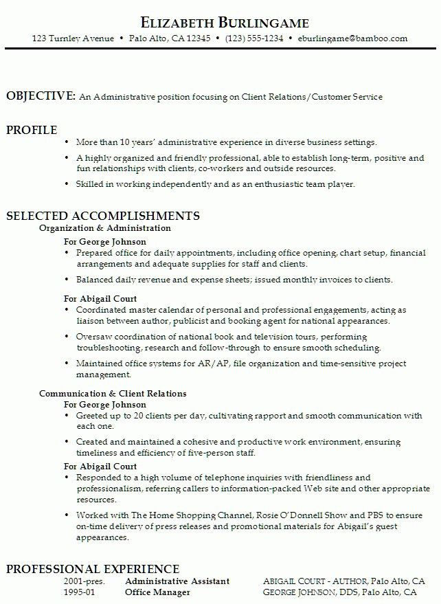 Objectives Of Resumes. unusual ideas general objectives for resume ...