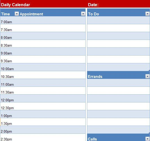 Excel Calendar Template Archives - Page 2 of 2 - My Excel Templates