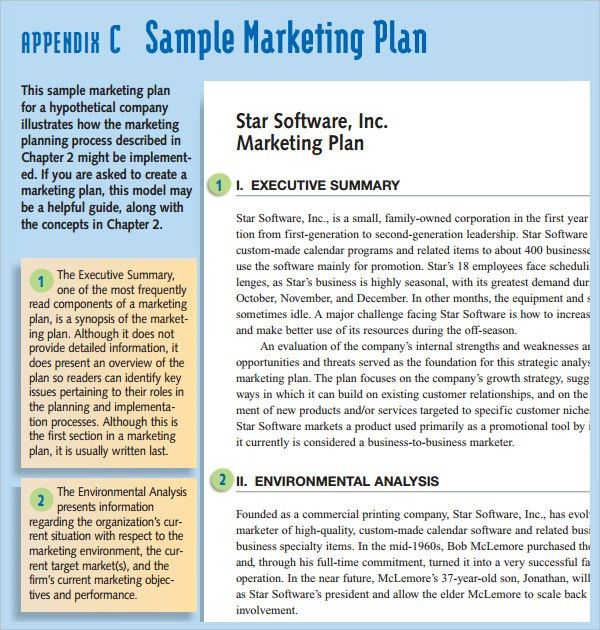 Sample Of Marketing Planning  BesikEightyCo