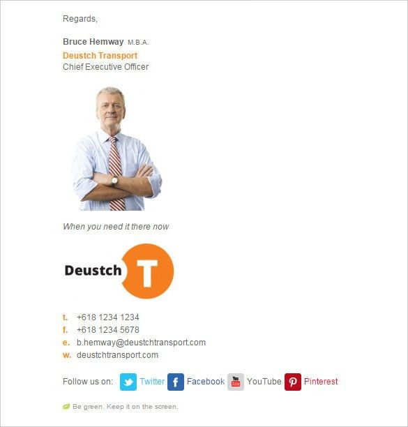 21+ Best Email Signature Generators, Tools & Online Makers | Free ...