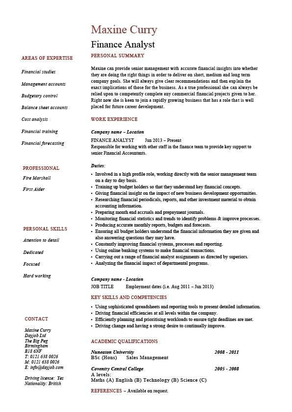 financial resume examples advisor resume example resume sample