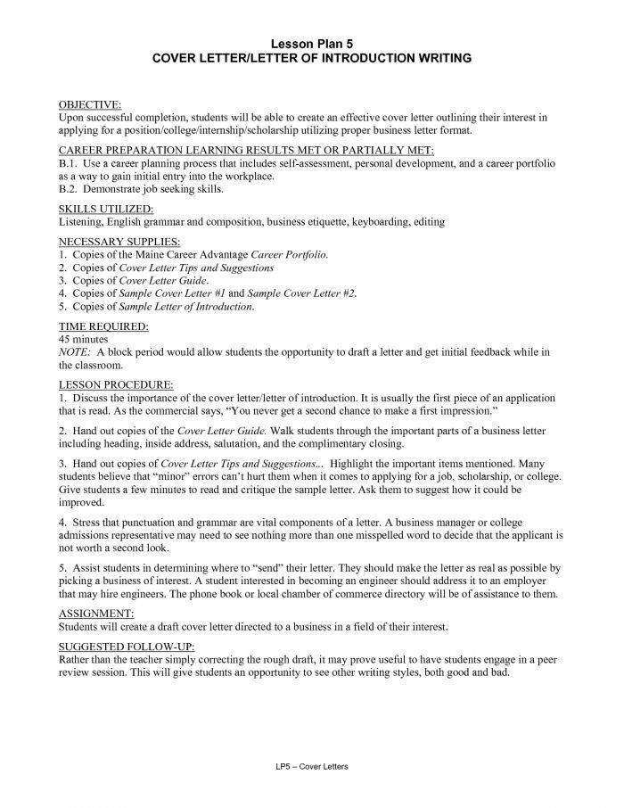 Extremely Creative Introduction Letter For Resume 14 Cover Letter ...