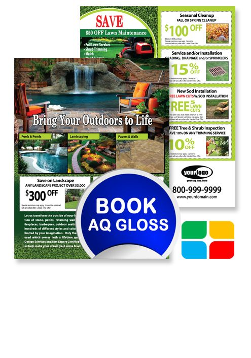 Landscaping Flyer Template LA010001 | Service Print Ads