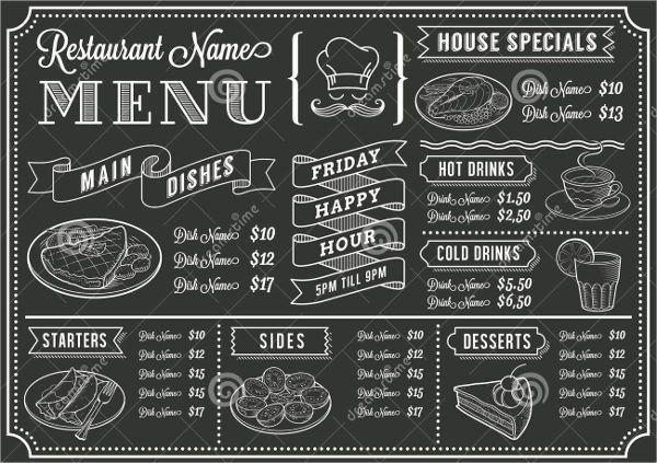 8+ Family Restaurant Menu Templates - Designs, Templates | Free ...