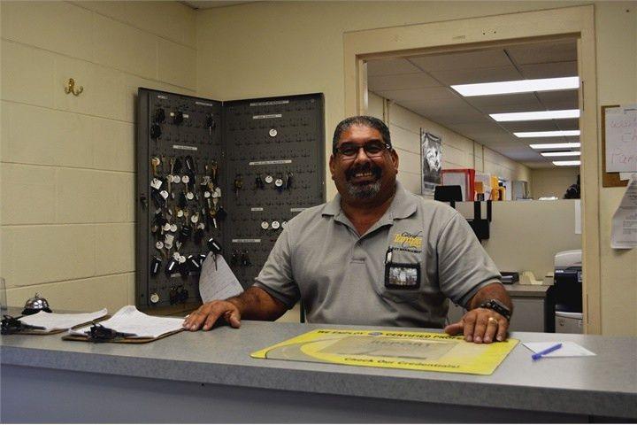 William Marrero, fleet logistics technician, handles sublets ...
