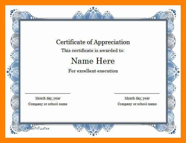 8+ award templates word | resumed job