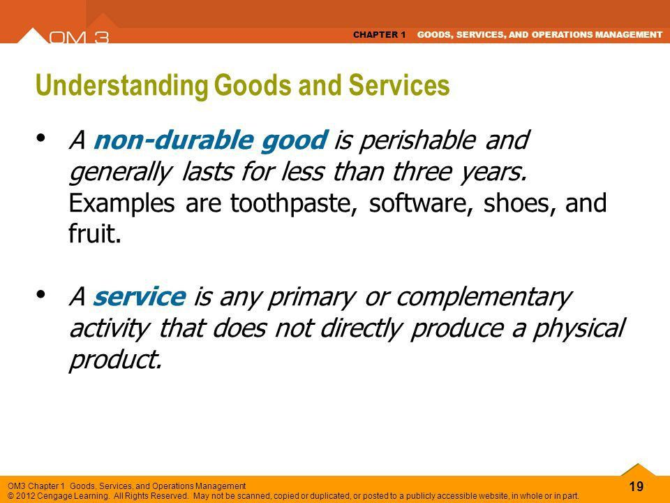 GOODS, SERVICES, AND OPERATIONS MANAGEMENT - ppt video online download