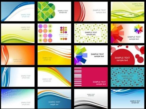 Corel draw business card template free vector download (116,338 ...