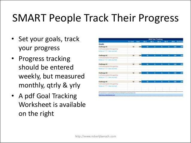 Goal Setting 2014   Setting SMART Goals