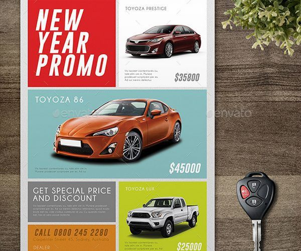 25+ Best Car Sale, Repair, Wash Flyer Templates