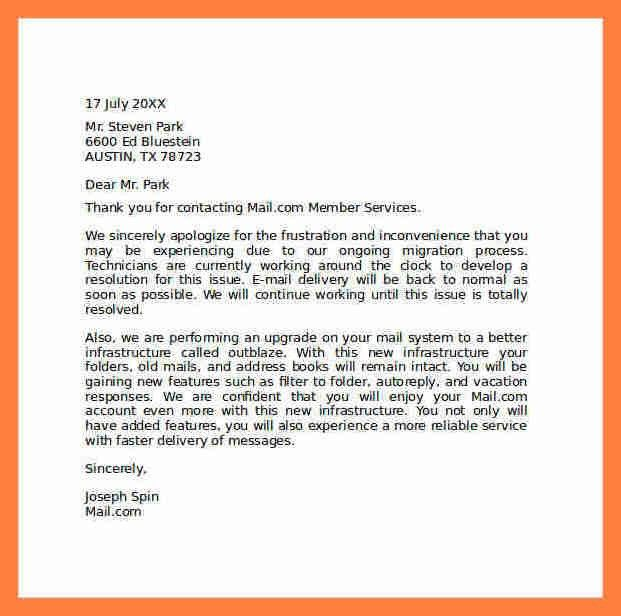 5+ apology letter for poor customer service examples | Life ...