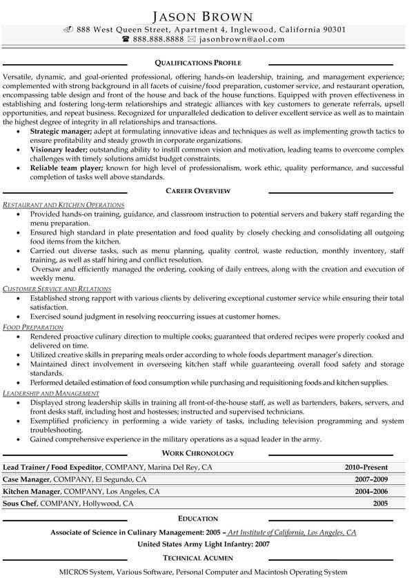food services resume examples resume professional writers. Resume Example. Resume CV Cover Letter