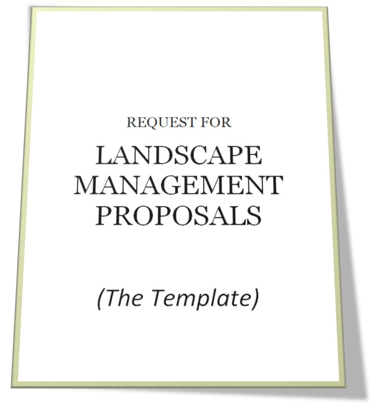 Free Landscape RFP Template