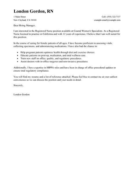 Food Specialist Cover Letter Examples Education Cover Letter ...
