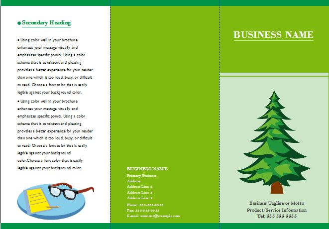 Customizable Brochure Templates - Free Download