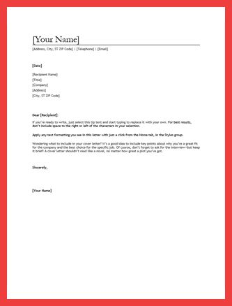 resume cover letter outline | memo example