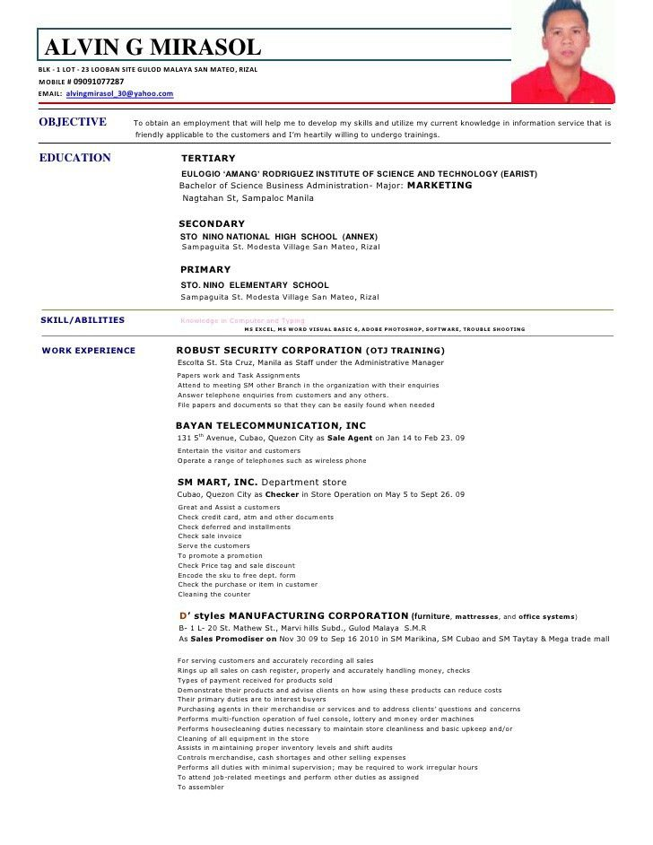 79 cool resume for a job examples of resumes. housekeeper resume ...