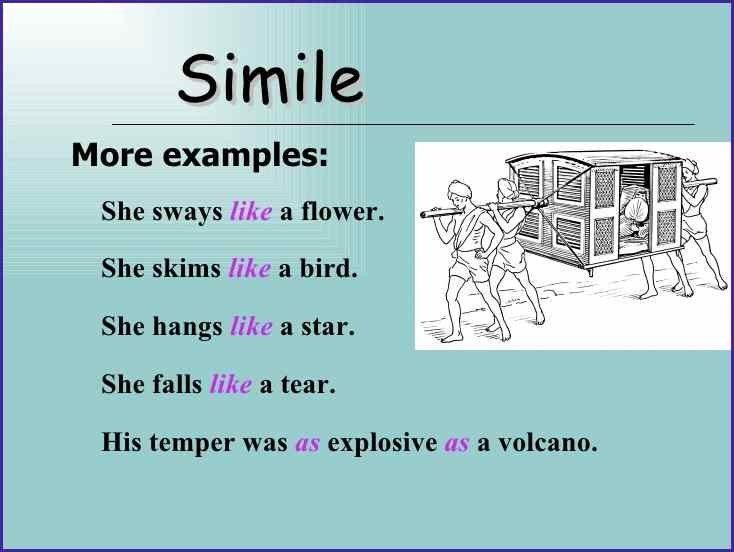 FIGURE OF SPEECH EXAMPLES | letterproposaltemplate.com