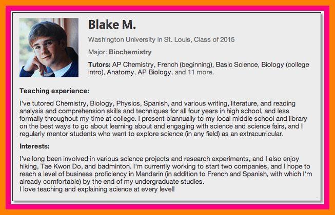 6+ graduation biography example | target cashier