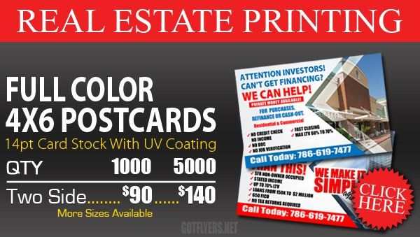 Real Estate Business Card Printing Miami