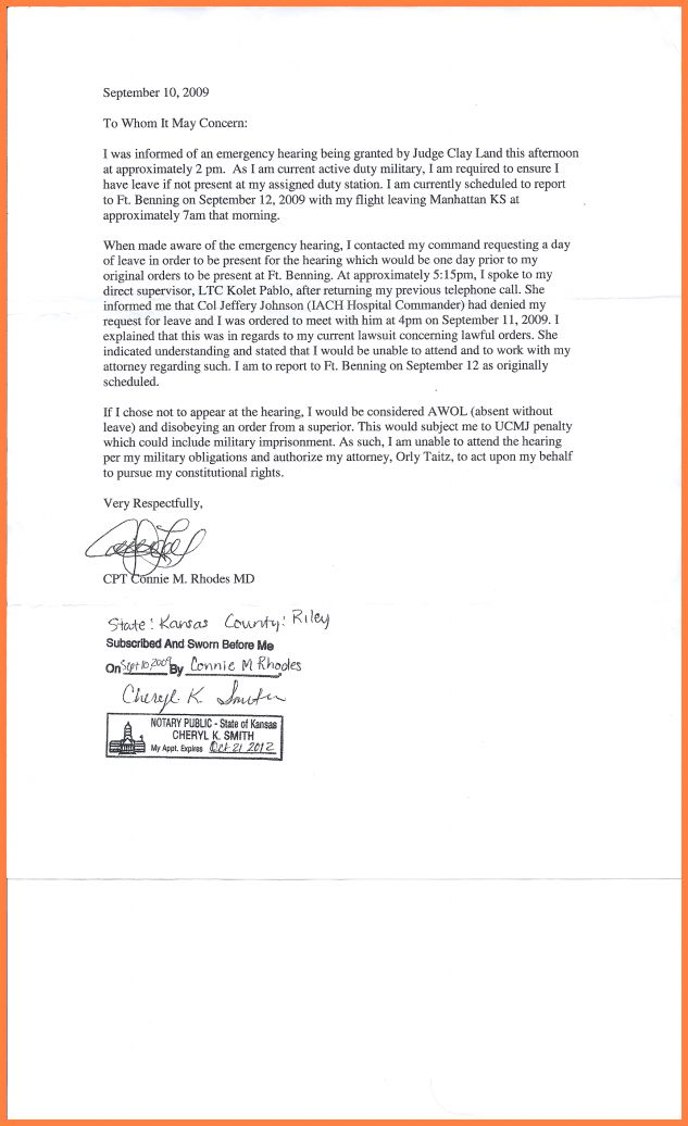 How To Write A Notarized Letter.connie Rhodes Statement 621×1024 ...