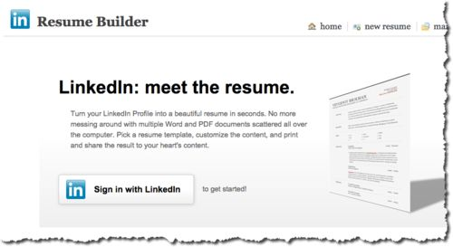 Turn your Linkedin profile into an actual resume with this free ...