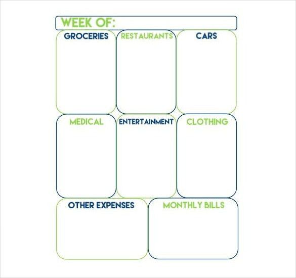 10+ Weekly Budget Templates – Free Sample, Example, Format ...