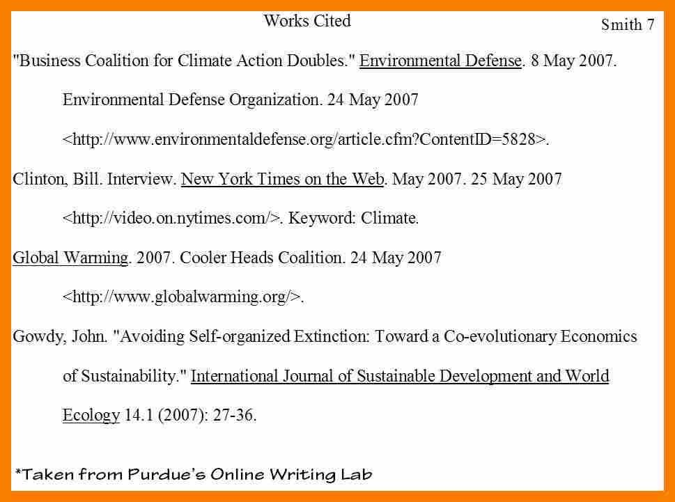 9+ example works cited page | biology resume