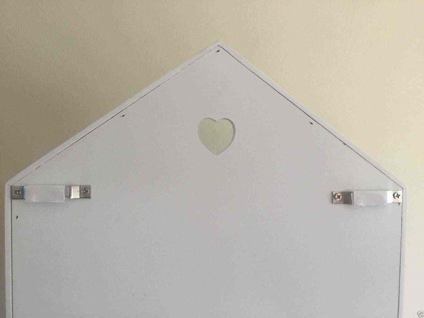 Vintage Letter Rack Key Holder Hooks House Storage Shabby Chic ...